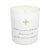 Illuminations collection - silence and stillness candle