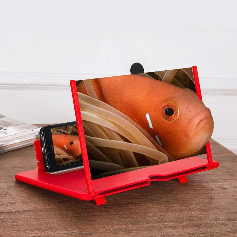 "12"" HD Thin Foldable Mobile Phone Screen Magnifier - Limitless Bargains"