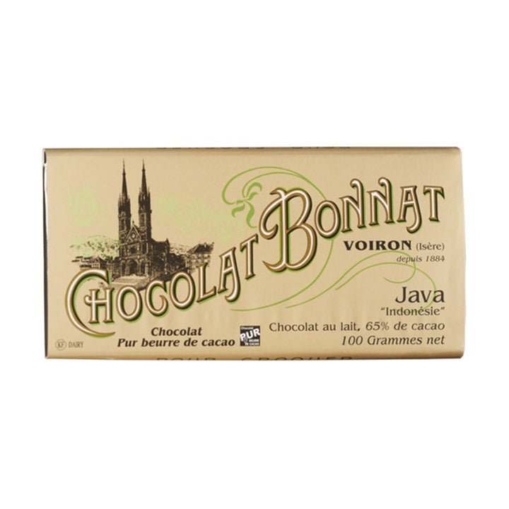 Tablette Bonnat Java - Vendu par Chocolat Bonnat