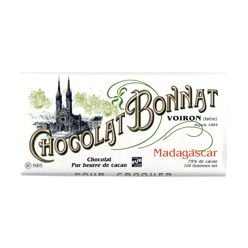 Tablette Bonnat Madagascar - Vendu par Chocolat Bonnat