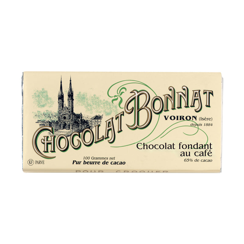 Tablette Bonnat Moka - Vendu par Chocolat Bonnat