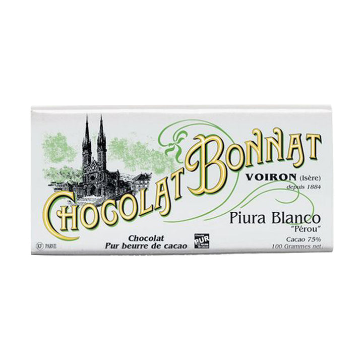 Tablette Bonnat Piura Blanco - Vendu par Chocolat Bonnat