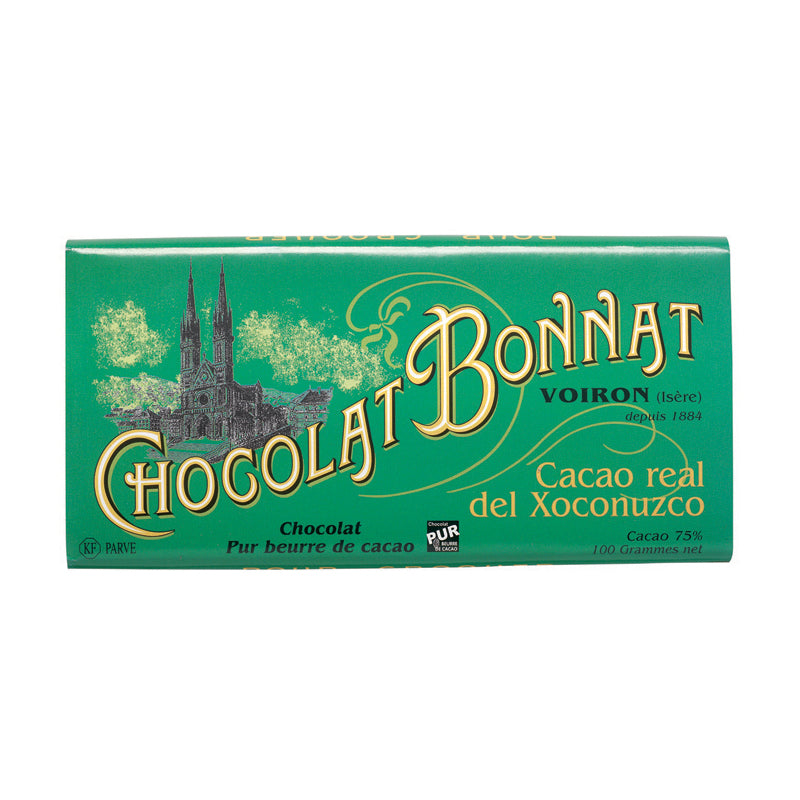 Tablette Bonnat Real del Xoconuzco - Vendu par Chocolat Bonnat