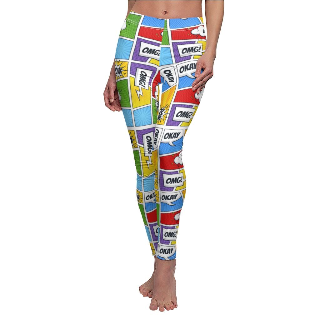 Comic Women's Workout Leggings