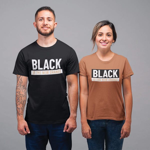 Black Is The New Orange Unisex T-shirt
