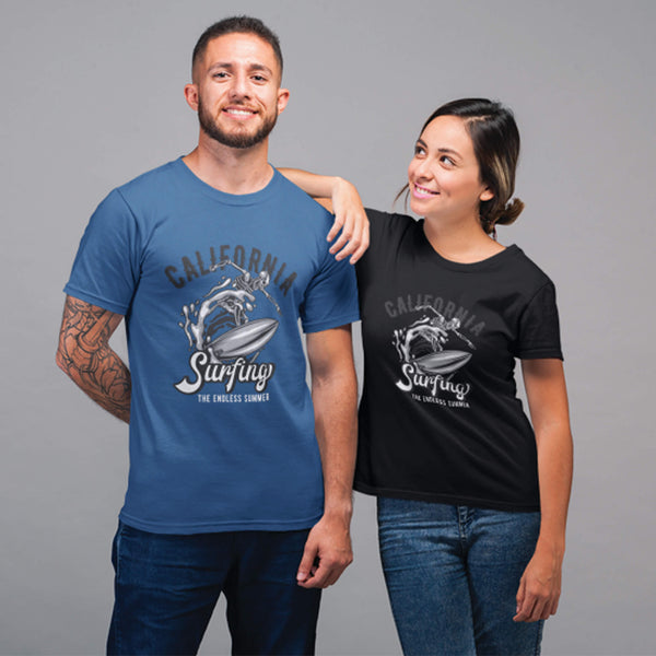 California Surfing The Endless Summer Unisex T-Shirt