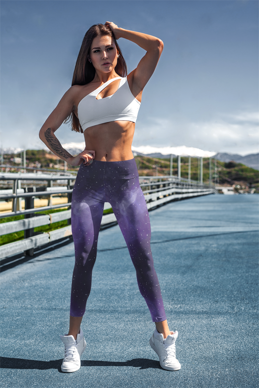 Galaxy Women's Yoga Leggings