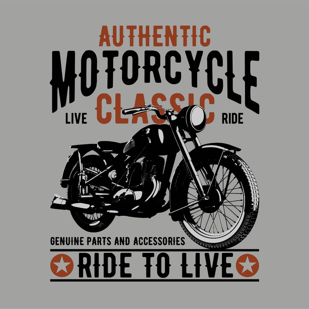 Authentic Motorcycle Unisex T-Shirt