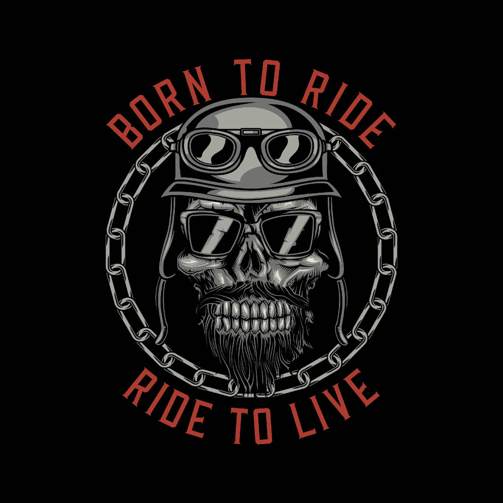 Born To Ride Ride To Live Unisex T-Shirt