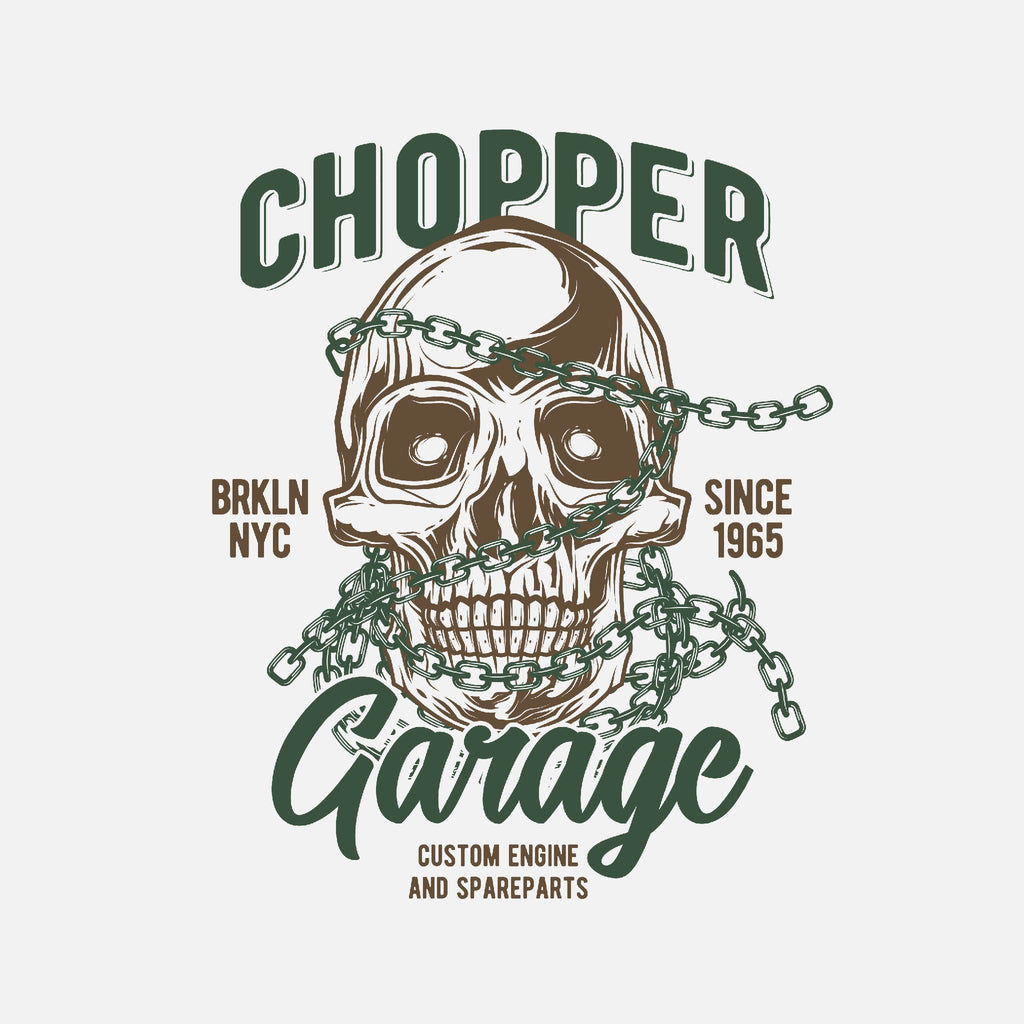 Chopper Garage Unisex T-Shirt