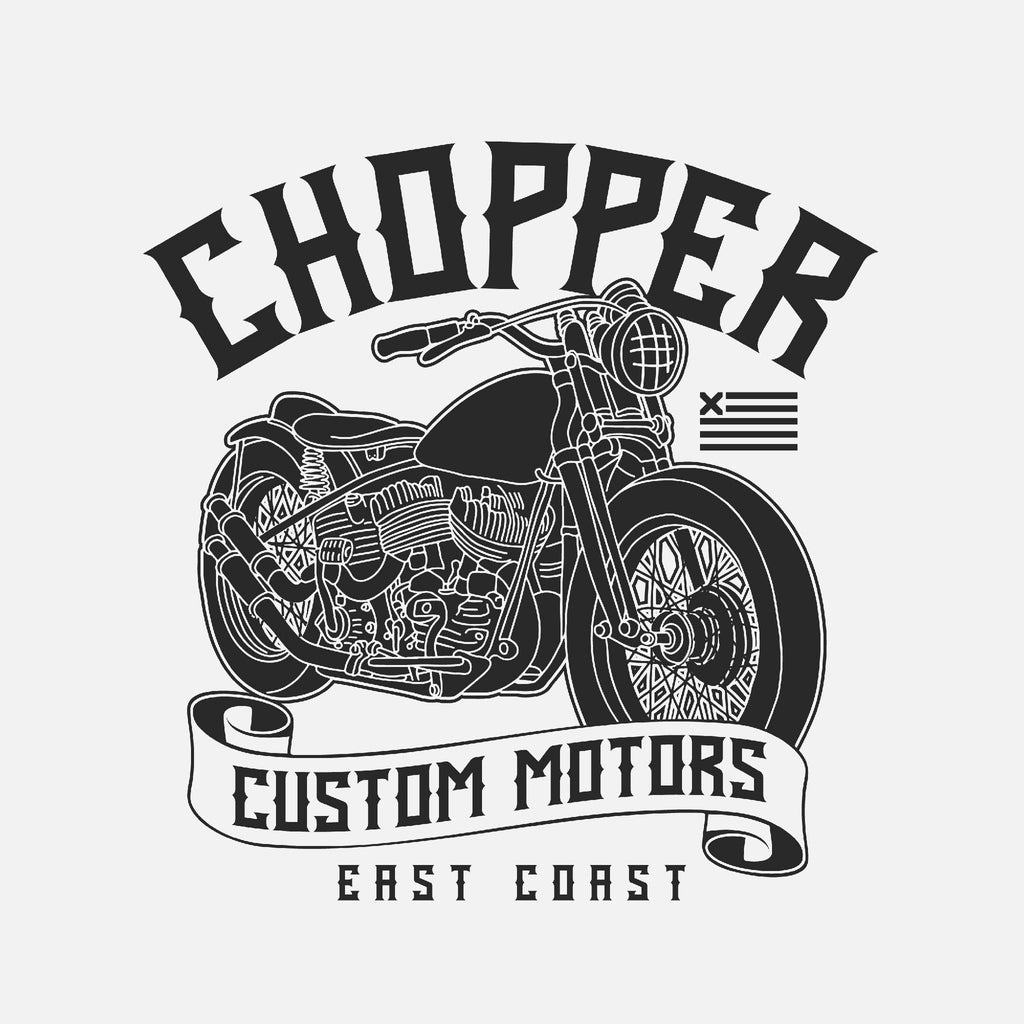 Chopper Motors East Coast Unisex T-Shirt