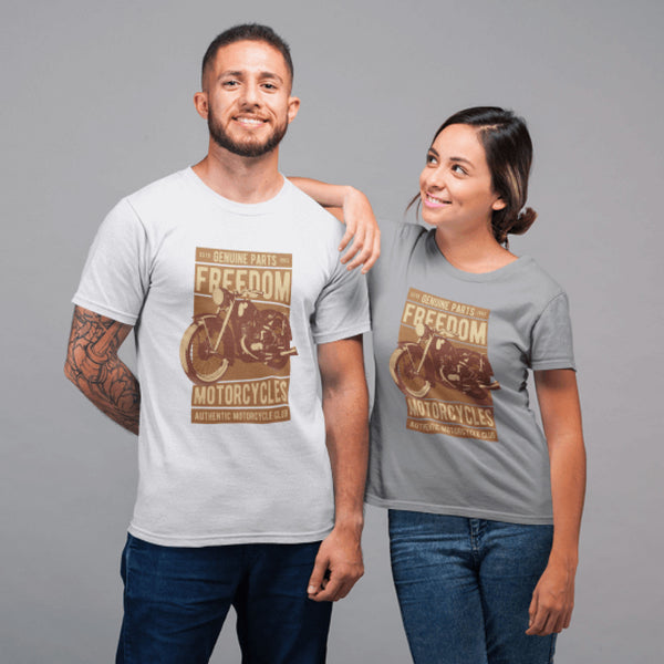 Freedom Motorcycle Unisex T-Shirt