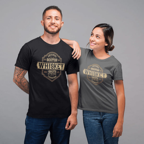 Original Whisky Shots Unisex T-Shirt