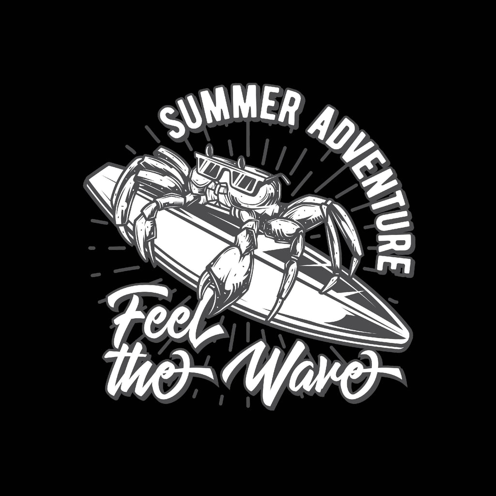 Summer Adventure Feel The Wave Unisex T-Shirt