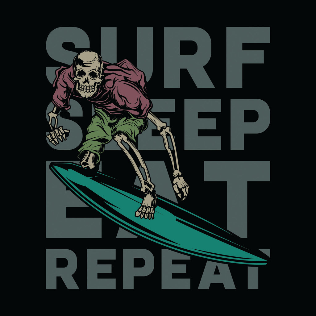 Surf Sleep Eat Repeat Unisex T-Shirt