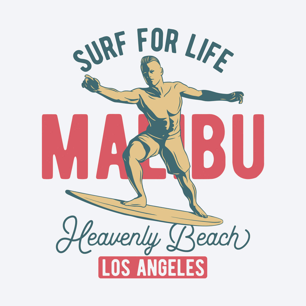 Surf for Life Malibu Unisex T-Shirt