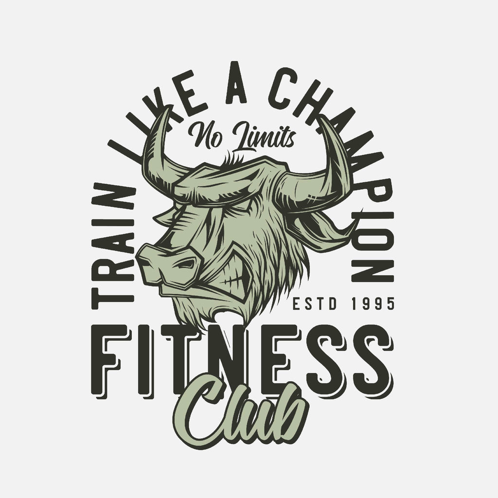 Train Like a Champion Fitness Club Unisex T-Shirt