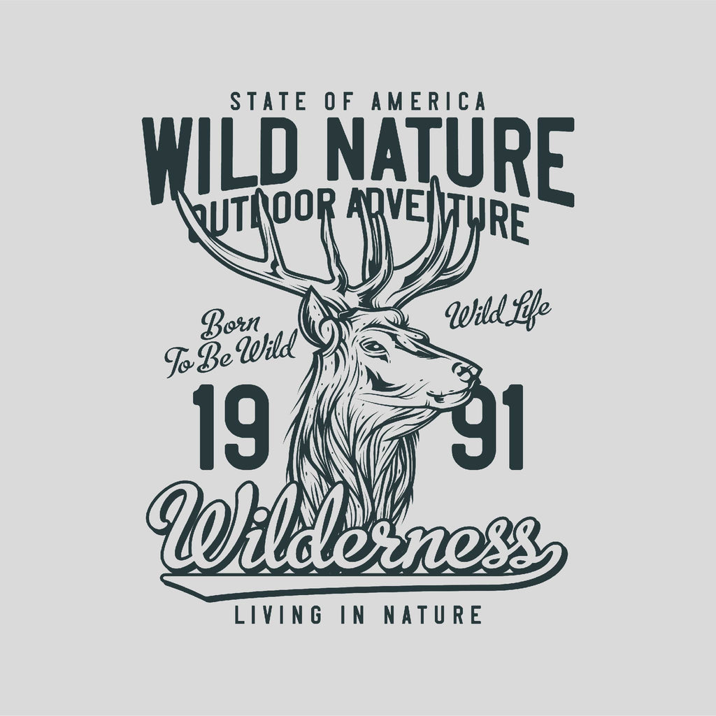 Wild Nature Outdoor Adventure Unisex T-Shirt