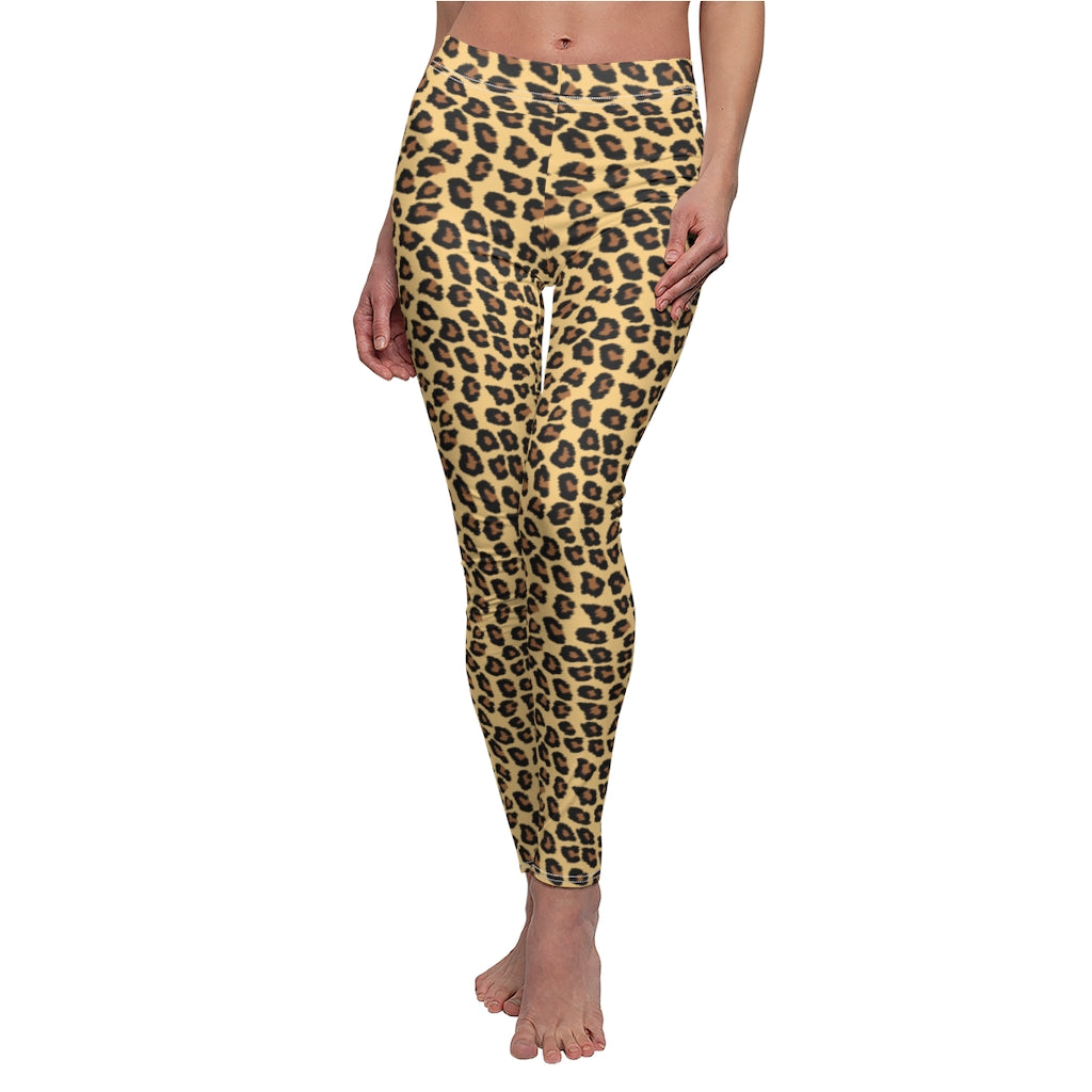 Jaguar Skin Fur Women's Yoga Leggings