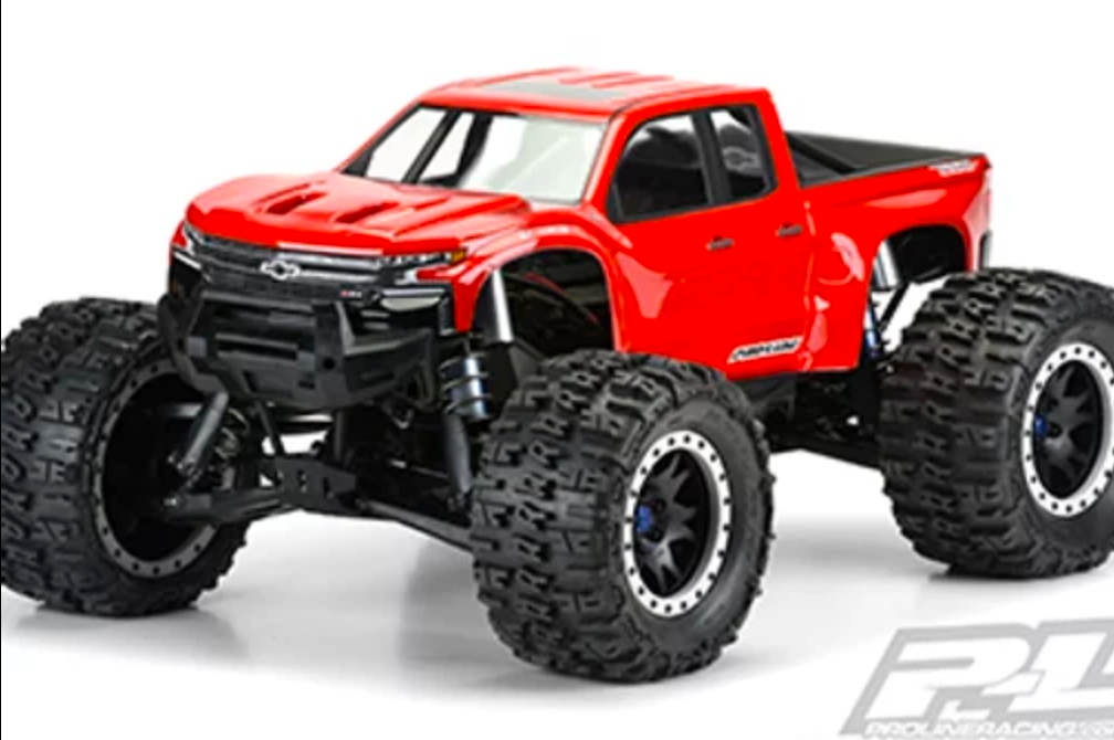 Pre-Cut 2019 Chevy Silverado Z71 Trail Boss Clear Body
