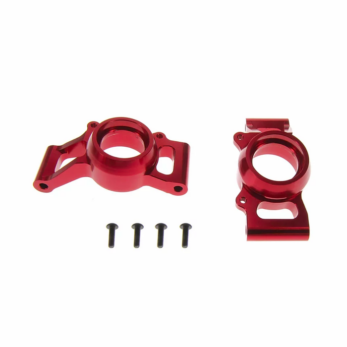 For TRAXXAS X-MAXX ALLOY REAR HUB CARRIER, RED BY ATOMIK RC REPLACES TRX 7752