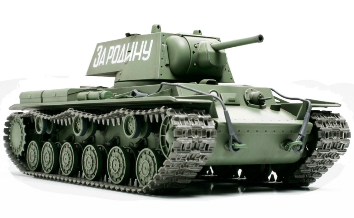 1/48 Russian KV-1 Plastic Model Kit