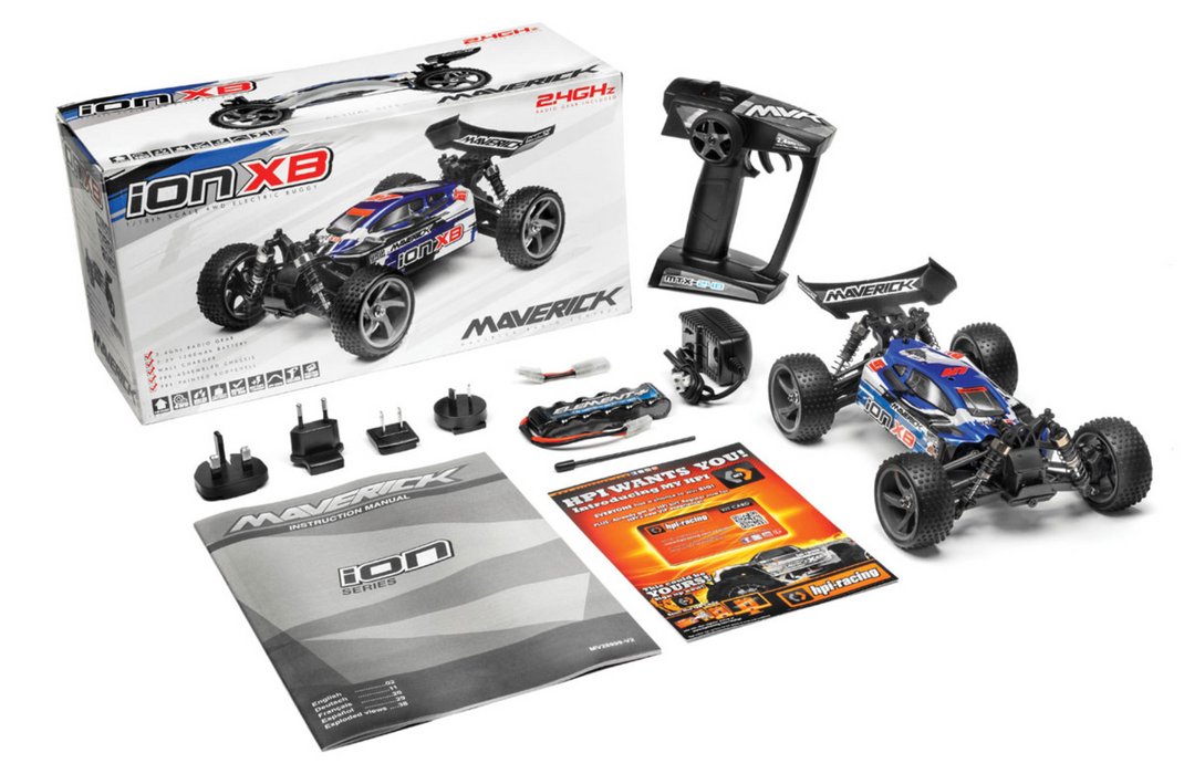 ION XB 1/18 RTR Electric Buggy