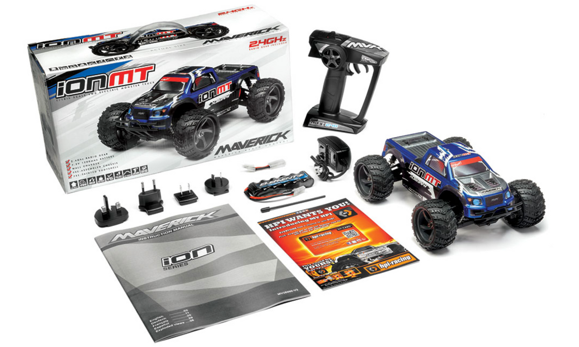 ION MT 1/18 RTR Electric Monster Truck