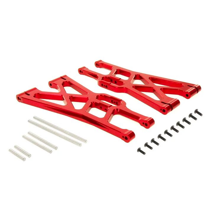 For TRAXXAS X-MAXX ALLOY FRONT/REAR LOWER ARM, RED BY ATOMIK RC REPLACES TRX 7730 AN