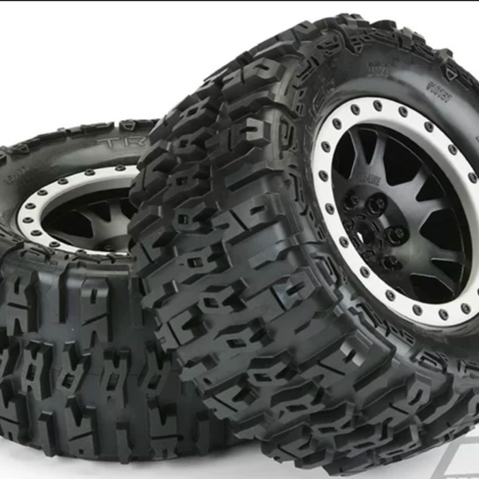 "Trencher 4.3"" Pro-Loc All Terrain Tires Mounted"