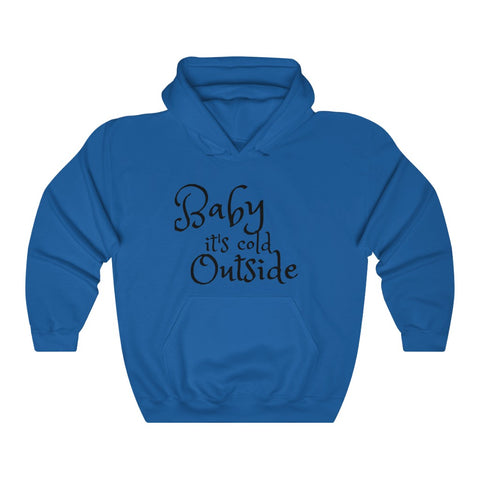 Baby It's Cold Outside Unisex Hoodie