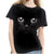 Feitong Women T Shirt Girls 3D Print Animal Summer Short Sleeve T-Shirts Top Women Clothing Tee Camiseta Femininas Plus Size