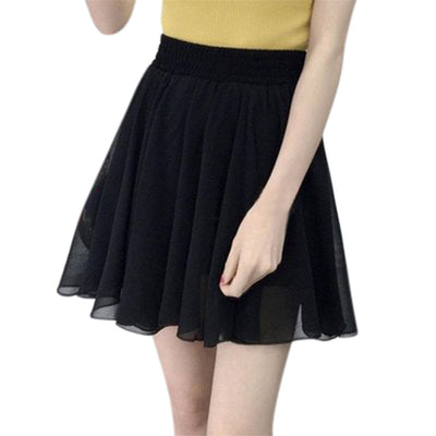Fashion Party Summer Women Solid Color Skirt High Waist Skirt Female Falda Jupe Femme Skirts Womens Faldas Mujer Moda 2019