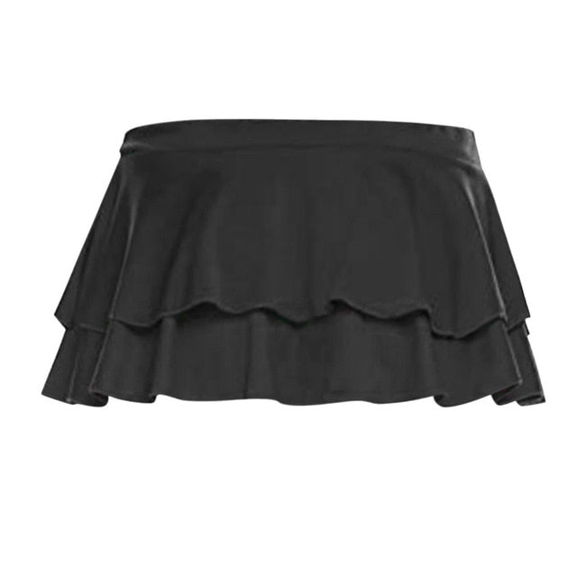 Feitong Women Skirts Fashion Club Low-Waisted Sexy Party and Evening Mini Skirt Party Casual Short Skirts Femme Faldas Mujer
