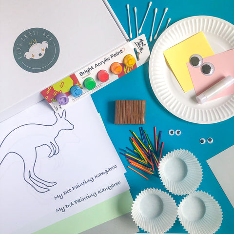 Australian Animals-Kids Craft Box