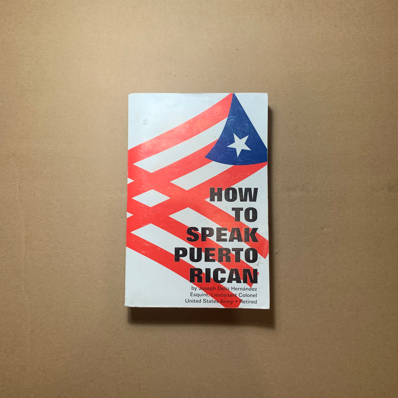 How To Speak Puerto Rican (Used Book)