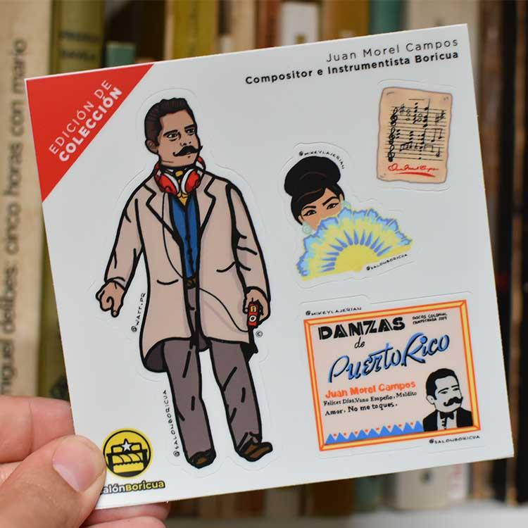 Juan Morel Campos Mini Stickers (Premium Sticker) - Limited Edition