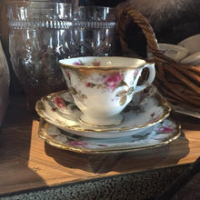 Load image into Gallery viewer, Vintage Tea Cup, Saucer & Side Plate - le-marche-sassafras