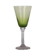 Load image into Gallery viewer, Talbot Wine Glass - Green