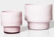 Load image into Gallery viewer, Leia Glass Votives - Icy Pink