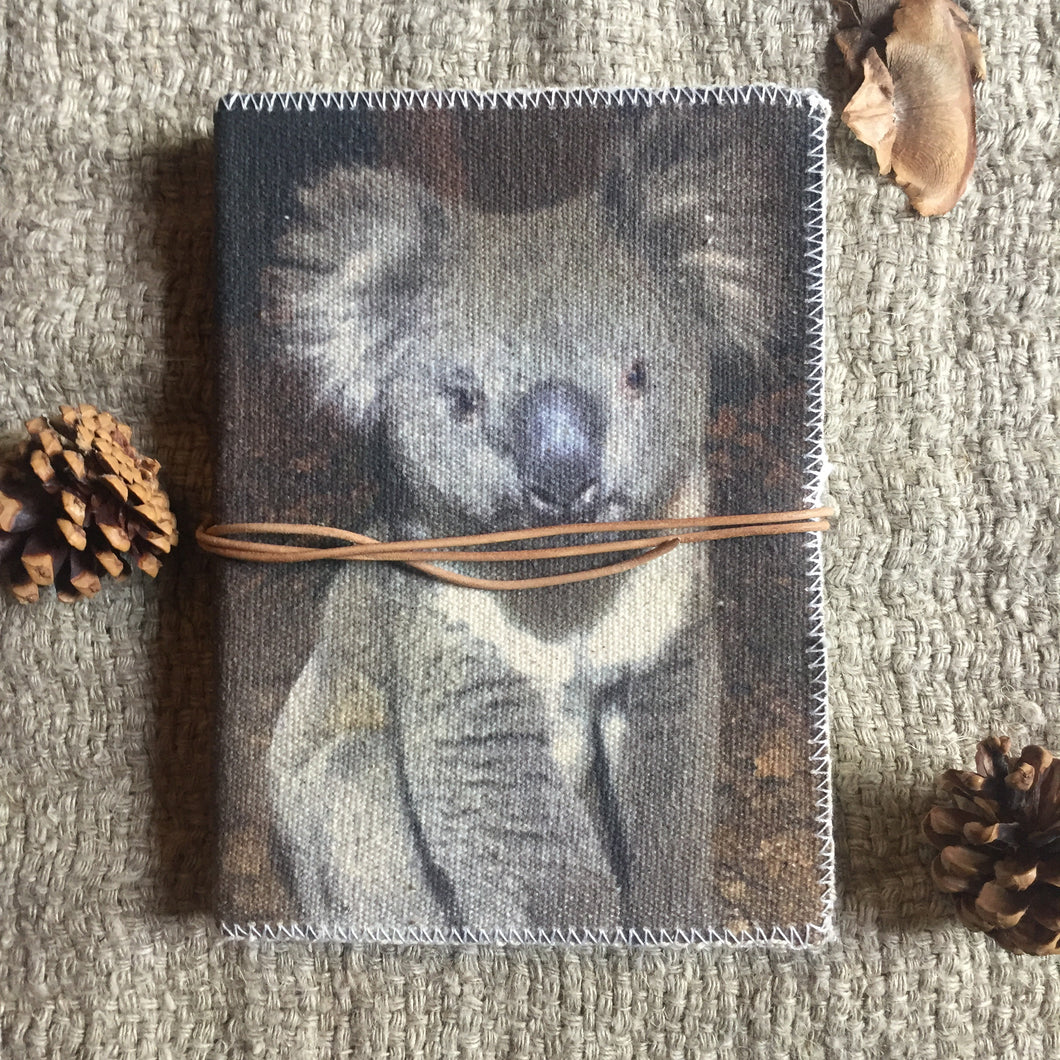 Hand Made Paperless Notebook - Koala
