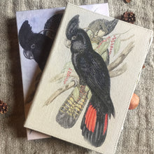 Load image into Gallery viewer, Hand Made Paperless Notebook - A4 Black Parrot