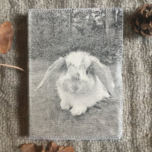 Load image into Gallery viewer, Hand Made Paperless Notebook - Bunny