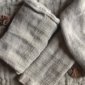Knitted Linen Hand Towel - le-marche-sassafras
