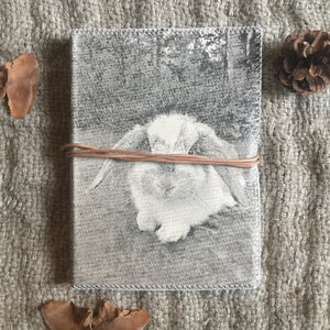Hand Made Paperless Notebook - Bunny