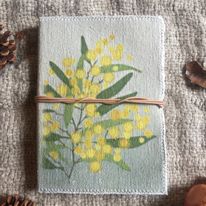 Hand Made Paperless Notebook - Wattle