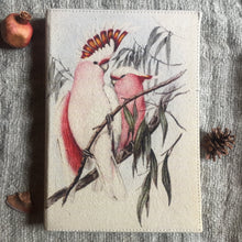 Load image into Gallery viewer, Hand Made Paperless Notebook - A4 Cockatoo