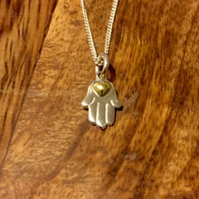 Load image into Gallery viewer, Palas Necklace - Hamsa Hands