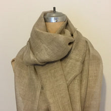 Load image into Gallery viewer, Scarf - Natural Linen