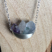 Load image into Gallery viewer, Emine Handmade Crystal Cup Necklace